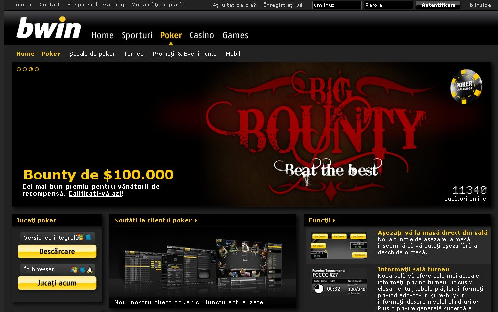 bwin website down